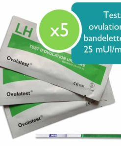 5 tests d'ovulation bandelette